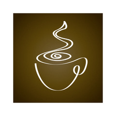 The original cup in a minimalist style.