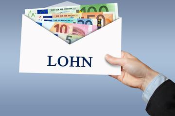 Lohn - Umschlag