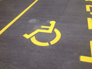 parking for disabled person