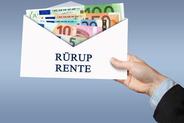 Rürup Rente Kuvert