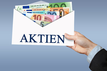 Aktien - Umschlag