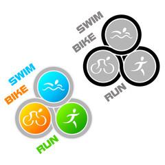 Triathlon symbol