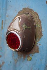 Rusty taillight.