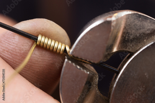 In the  goldsmith's workshop - 73004538