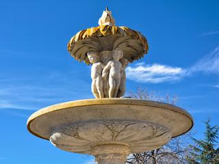 Parque del Retiro, Madrid, Fuente de la Alcachofa