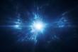 Leinwandbild Motiv Deep space travel supernova