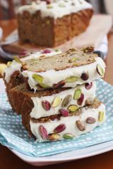 Banana & pistachio loaf