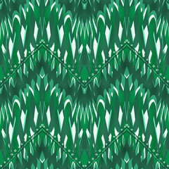 Abstract pattern seamless geometric tribal design background