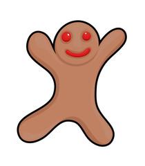 Gingerbread Man Cookie