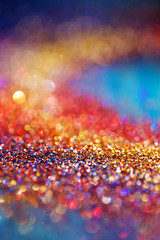 Colorful abstract Christmas background