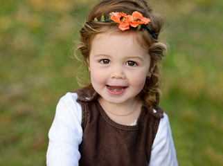 lovely toddler girl