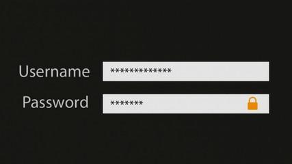strong computer password