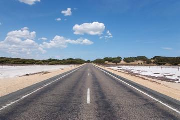 route droite Australie