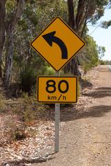 panneau indicateur - Australie