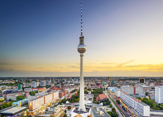 Berlin, Germany City Skyline