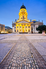 Gendarmenmarkt Square and Cathedral of Berlin, Germany