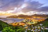 Philipsburg, Sint Maarten in the Caribbean