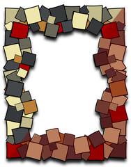 Cadre aux multi-carrés