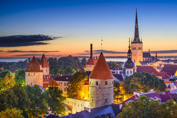 Tallinn, Estonia Old City