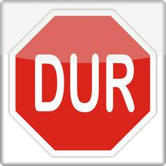 Stopschild, türkisch