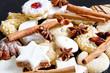 Weihnachtsplätzchen mit Gewürze