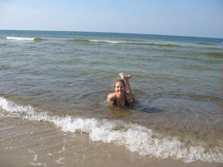 Кристальная вода Балтийского моря