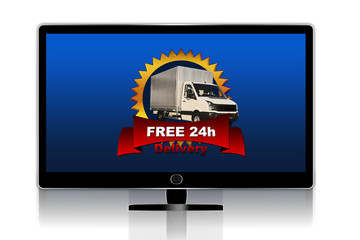 Free delivery tv