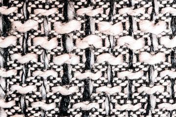 grey white fabric