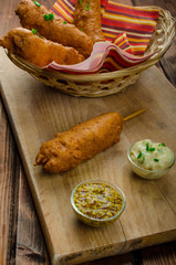 Homade Corn dog