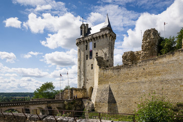 Castle of Chinon - France