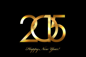 Vector - 2015 Happy New Year background