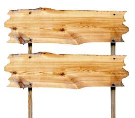 double billboard wooden