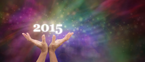 Welcome in 2015 Celebration Banner