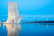 Leinwanddruck Bild - monument to the discoveries Lisbon