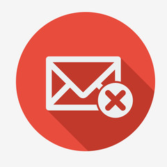 Single email icons design.