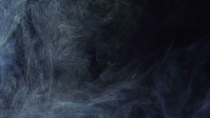 Smoke in the Black Background