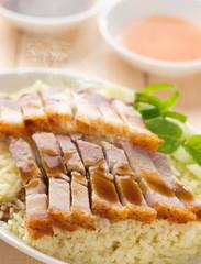 Crispy Chinese roasted pork