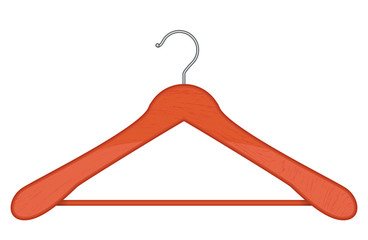 Vector illustration of hanger