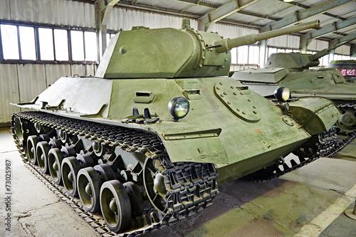 Poster Soviet light infantry tank T-126 SP