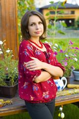 Portrait of a beautiful Ukrainian women