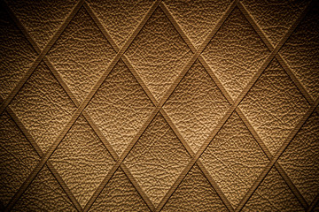 Vintage Golden leather pattern