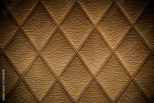 Deurstickers Stof Vintage Golden leather pattern
