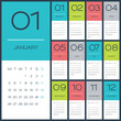 Calendar 2015 vector desing template - 73026568