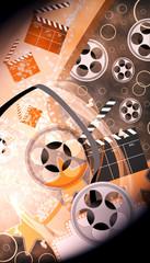 Cinema or movie background