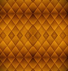 Vintage Golden leather pattern