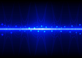 abstract background line wave light effect