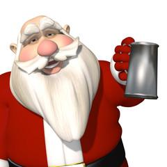 Santa Toasting