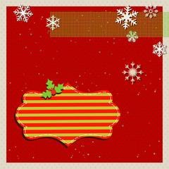 template christmas card