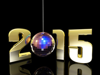 2015 New Year Disco Ball