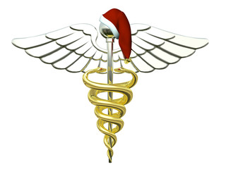 Christmas Caduceus